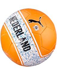 PUMA ballon de football officiel country non-fan, orange/white/nederland 4 082607 04