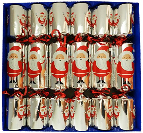 fill-your-own-christmas-crackers-box-of-6-large-barrelled-crackers-silver-jolly-santa-design