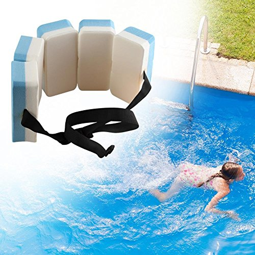 Coogel Swimming Buoyancy Belt Swim Training Aid Waist Adult Child Pool Float Kickboard Foam Floating Belt Swim Waist Belt for Kids Swimming Beginner