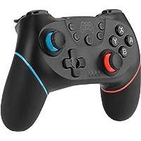 Diswoe Manettes pour Switch/Switch Lite, Manette sans Fil pour Nintendo Switch, 6 Axes Manette Pro Switch de Jeu avec Bluetooth/Turbo/Double Moteur pour Switch Pro et Switch Lite et PC