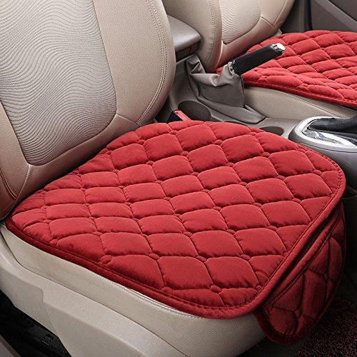 2PCS-seggiolino-auto-anteriore-copertura-della-sedia-cuscino-interno-automobilistico-copertura-di-protezione-in-velluto-di-seta-piazza-tappetino-del-sedile-Auto-pad-per-autista-nero-Confortevole