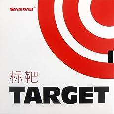 """SANWEI TARGET ATTACK """"Chinese Forhand"""" schneller Tischtennisbelag TT-Belag Noppen innen Tension"""