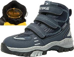 VITIKE Kinder Schneestiefel Kinder Schneestiefel Winterstiefel Wanderschuhe Wanderstiefel Unisex Trekking Schuhe Jungen Stiefel Mädchen Schneestiefel
