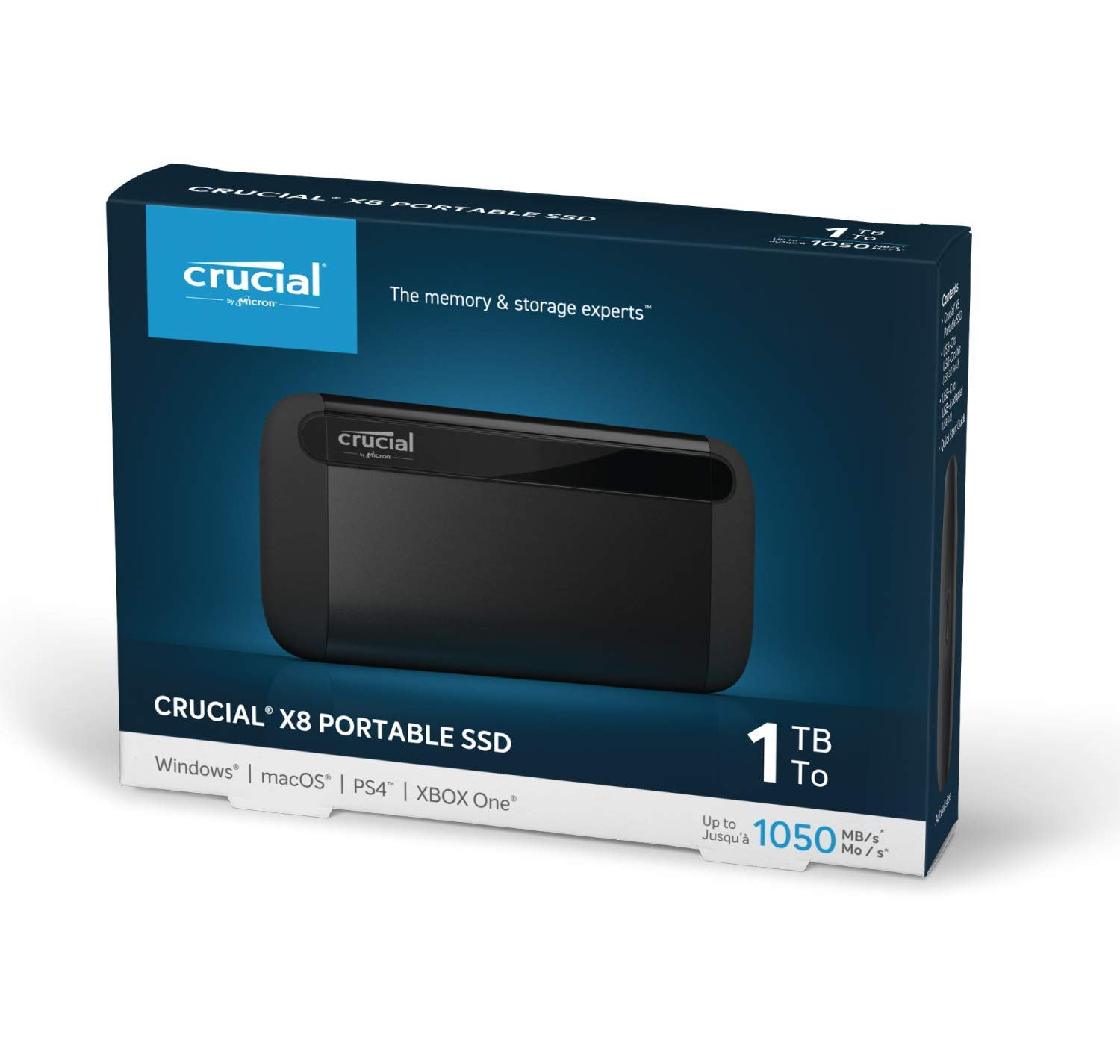 Crucial-X8-CT500X8SSD9-Portable-Solid-State-Drive