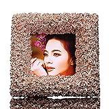 DHWJ Hochzeit Geschenk Foto Bild einrichten, Kreativ Seine Freundin Schicken bilderrahmen-A 14x14cm(6x6inch)