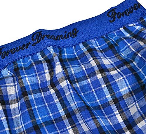 Generic - Bas de pyjama - À Carreaux - Femme Bleu