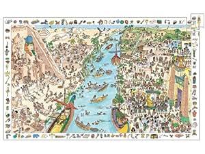 Djeco – Puzzles observation – L'Egypte