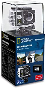 National Geographic 9083000 Action Camera Full-HD, 140°, Impermeabile, 30 m