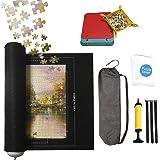 ARELUX Tapis de puzzle enroulable 1000, 1500, 2000 pièces, 116,8 x 81,3 cm en feutre avec sac de rangement à cordon