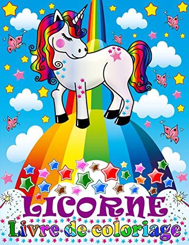 Licorne: Livre de Coloriage Pour les Enfants de 4 à 8 Ans par  Enfants intelligents