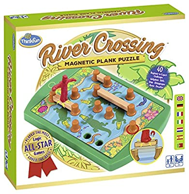 Ravensburger 76349 Thinkfun River Crossing Jeu