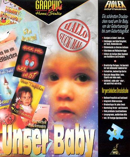Graphic Art Home Studio, CD-ROMs, Vol.5 : Unser Baby, 1 CD-ROM Die schönsten Drucksachen rund um Ihr Baby, von der Geburtsanzeige bis zum Geburtstagsfest