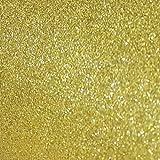 Goma eva Purpurina Color Amarillo/Oro a Metros de 90 cm Ancho. Fantastica Goma eva para Todo Tipo de Manualidades. Se Vende a Metros : 1 Unidad = 1 - KadusiMETRO