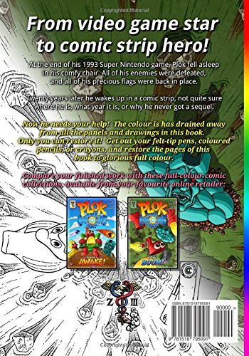 Plok Bumper Colouring Book