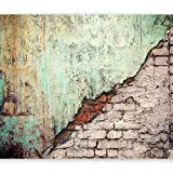 murando - Fototapete 300x210 cm - Vlies Tapete - Moderne Wanddeko - Design Tapete - Wandtapete - Wand Dekoration - Ziegel Mauer Beton TexturZiegel Mauer Beton Textur f-C-0126-a-b