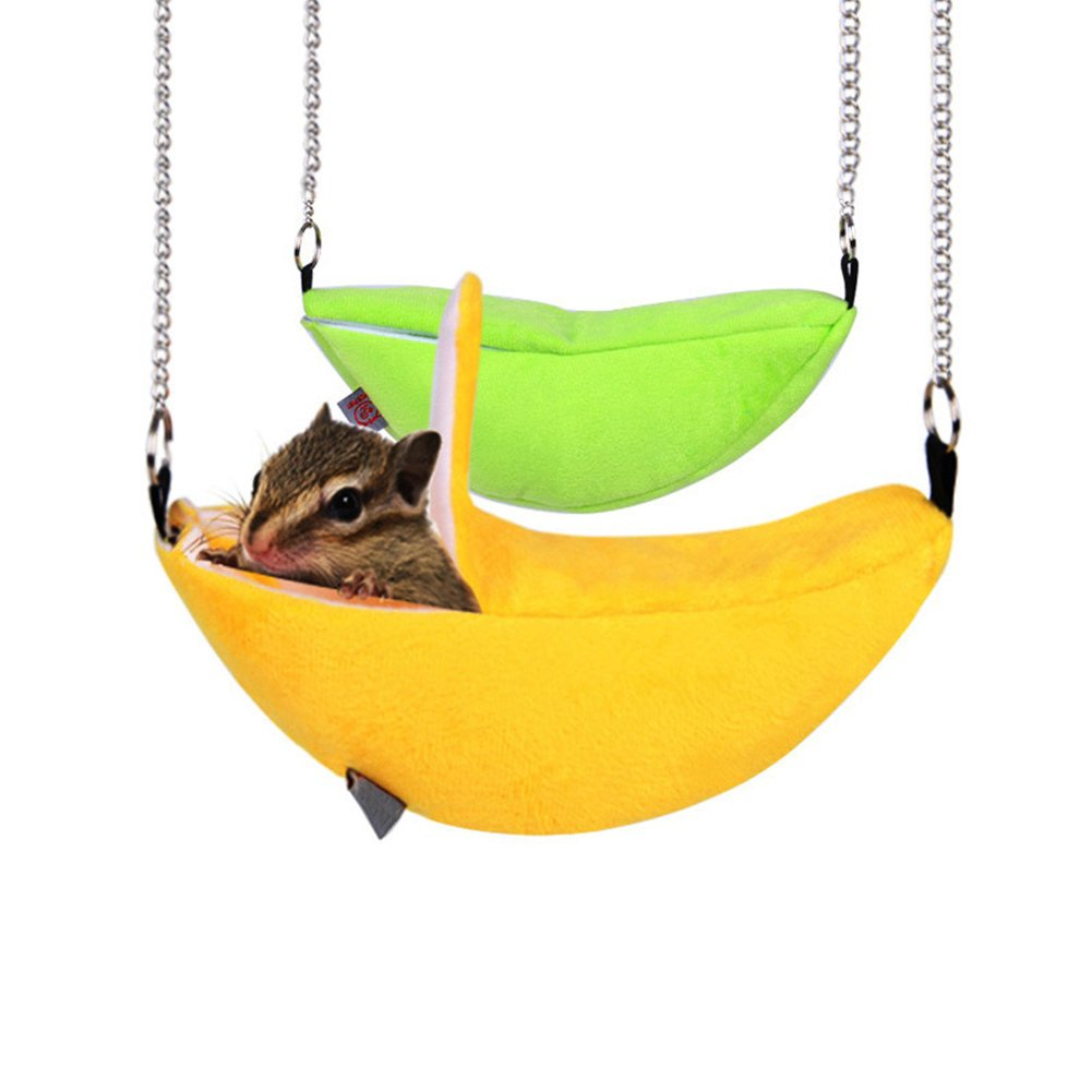 Hamaca de felpa cálida para invierno - hámster rata ratón conejillos de indias ardilla - cama columpio o juguete
