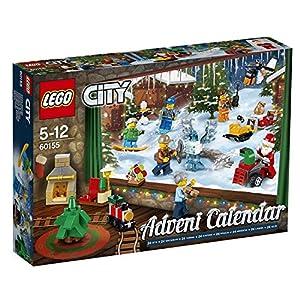 LEGO- City Calendario dell'Avvento, Multicolore, 60155 5702015866019 LEGO