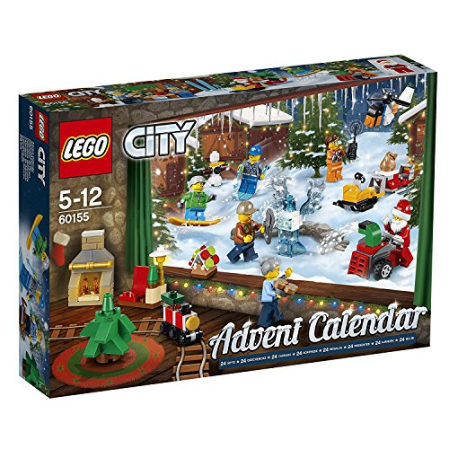 Produktbild bei Amazon - LEGO City 60155 - Adventskalender