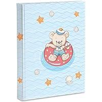 Mini Album Fotografico 100 Foto Bambini 10x15 cm Copertina Laminata Orsetto Baby