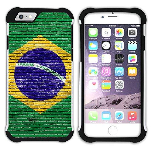 Graphic4You WOOD SKIN Muster Hart + Weiche Kratzfeste Hülle Case Schale Tasche Schutzhülle für Apple iPhone 6 / 6S Design #6