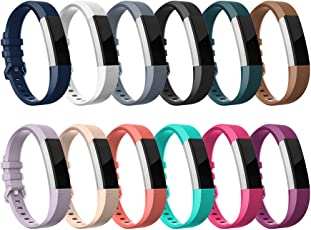 Fitbit Alta HR Bands-Fitbit Alta-Bands-Pack of 12 Colors Small,RedTaro Adjustable Accessory Bands/Straps/Bracelets for Fitbit Alta HR/Fitbit Alta for Women/Men(No Fitbit Fitness Trackers)