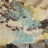 AIKE Wallpaper American Stil Abstrakt Baum Muster Tapeten Dekoration Wohnzimmer Restaurant TV Wand Schlafzimmer Tapete
