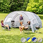 TecTake 800588 XXL Camping Tunnel Tent with Foyer 4-6 persons 10