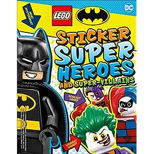 LEGO Batman Sticker Super Heroes and Super-Villains 9780241409282 LEGO