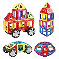 Introduzione: -Aprire la porta per i vostri bambini di immaginazione illimitata e creatività. Lasciate loro idee correre come hanno imparato ad utilizzare diverse forme per costruire forme sorprendenti - Perfetto ai genitori per giocare con i loro...