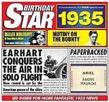 1935 Geburtstags-Geschenke - 1935 Chart Hits CD und 1935 Geburtstagskarte