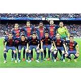 Barcelona FC Poster On Silk <52cm x 35cm, 21inch x 14inch> - Cartel de Seda - 82A34E
