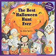 The Best Halloween Hunt Ever [With Stickers]