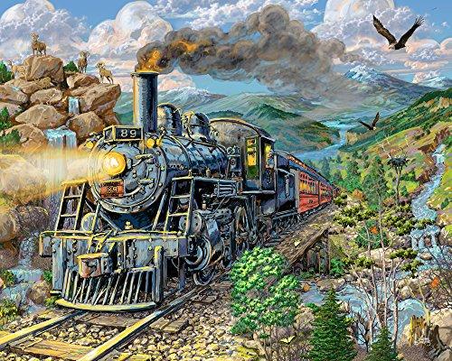 Big Horn Express Jigsaw Puzzle 1000 Pièces