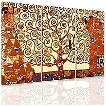 a8b3fffd11 Quadri Famosi alta risoluzione e brillante A330 Gustav Klimt Albero della  vita stampa su tela con