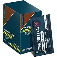 Proathlix Universal Blend Whey Protein (Pack of 33gx10 Sachet – Belgian Chocolate)