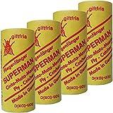 Superman 4 Stück Fliegenfänger Fliegenfalle Insektenfalle Leimfalle
