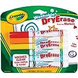 Crayola 6ct Dry Erase Broad Line Washabl...