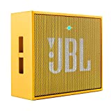 JBL GO Portable Wireless Bluetooth Speaker with Mic (Yellow)
