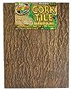 Zoo Med NCB-4E Natural Cork Tile Background, 45 x 61 cm, Rückwand für Terrarien in Baumrindenoptik