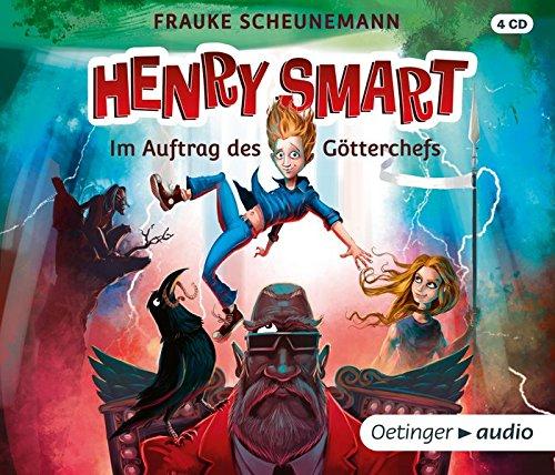 Preisvergleich Produktbild Henry Smart. Im Auftrag des Götterchefs (4 CD): Band 1,  Gekürzte Lesung,  300 Min.