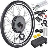 "48V 1000W 26"" Front Wheel Electric Bicycle Motor Conversion Kit E-Bike Cycling Hub"