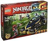LEGO Ninjago 70625 - Samurai Turbomobil, Spaßiges Spielzeug für Jungen und Mädchen