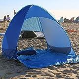 Xcellent Global Tente de plage Cabana instantanée pop-up, abri solaire, parasol, bleue SP038L...