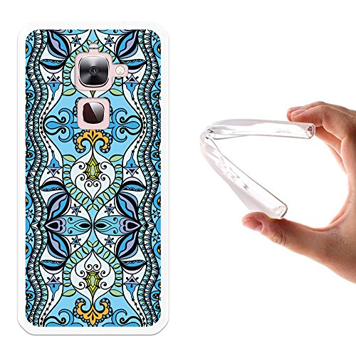 LeTV LeEco Le 2   Le 2 Pro X620 Hülle, WoowCase Handyhülle Silikon für [ LeTV LeEco Le 2   Le 2 Pro X620 ] Abstrakt Blau Muster Handytasche Handy Cover Case Schutzhülle Flexible TPU - Transparent
