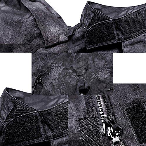 Zoom IMG-3 tuta tattica camicia mimetica da