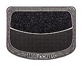 CarFashion 279661 PUR|TwinClean – Fussmatte| Türmatte| Fußabtreter | Schmutzfangmatte | Sauberlaufmatte | Eingangsmatte| für Innen und Aussen | Anthrazit-Metallic Oberfläche | Scraper-Noppen mit robustem Textilbelag | Größe ca. 75 x 57 cm