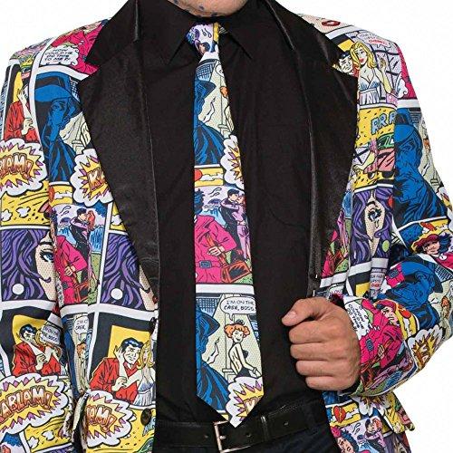 Krawatte Pop Art Comic für (Kostüm Pop)