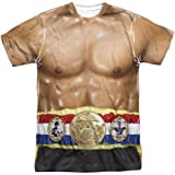 Rocky MGM Film Series Muscles Costume Costume adulto stampa frontale maglietta