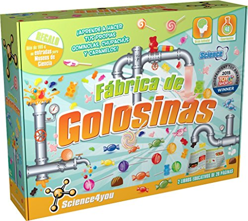 Science4you Fabrica de golosinas - Juguete científico y educativo