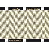 Sunbouncer Bounce Wall Reflektor Zick-Zack gold/weiß - Rückseite (21 cm x 29,7 cm / 8 Zoll x 11 Zoll) weiß